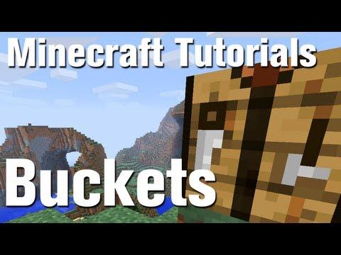 Minecraft Tutorial: How to Make a Bucket in Minecraft