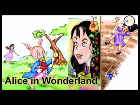 Alice in Wonderland - Class 4   NCERT   Book Reading   Primary Smart Class