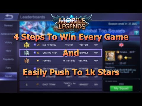 Mobile Legends How To Win Every Game