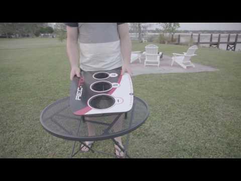 Rec-Tek® 3 Hole Bean Bag Toss - Assembly Video