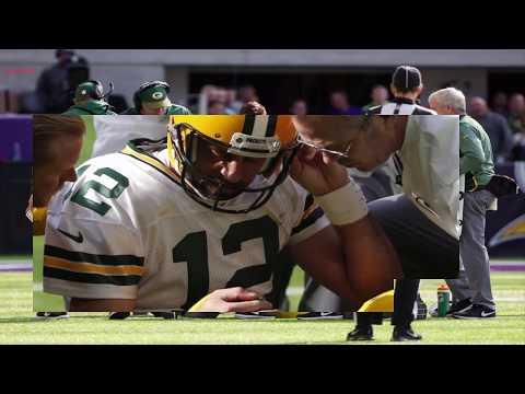 Aaron Rodgers Injury Packers QB Suffers Broken Collarbone Against Vikings