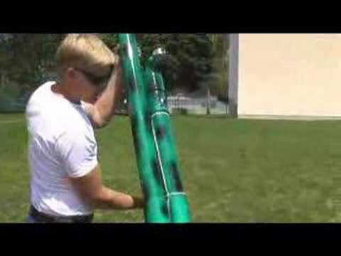 Water Balloon Launcher Explosion