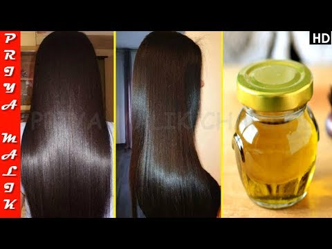 Use this Hair Oil In Summer & Get Long, Thick, Silky & Shiny Hair - Homemade Aloe Vera Hair Oil