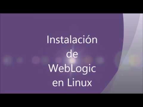 Instalacion de WebLogic en Linux