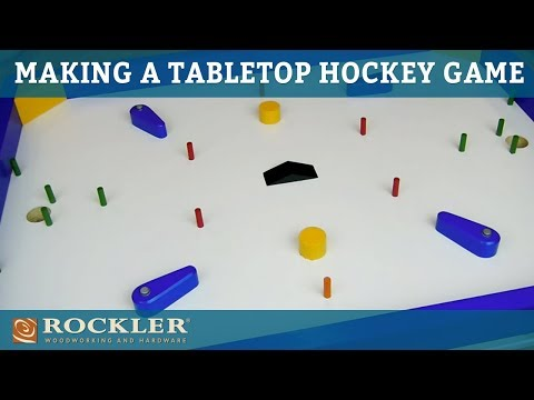 Making a Tabletop Quarter Hockey Game | Woodworking Project