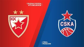 Crvena Zvezda mts Belgrade - CSKA Moscow Highlights | Turkish Airlines EuroLeague, RS Round 25