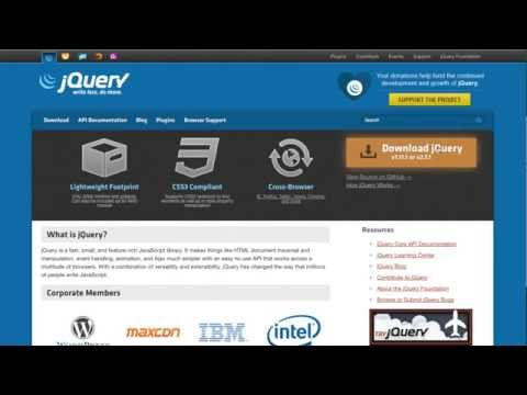 Setting Up a jQuery Mobile Project - Part 1