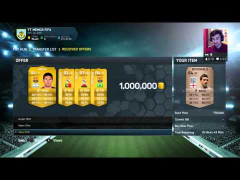 Fifa 14 Ultimate Team - 15,000,000 COIN DONATION!!!! WTF!!