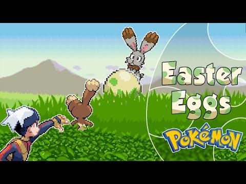 Easter Eggs en Pokémon