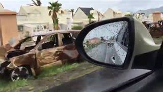 Hurricane Irma Damage driving from Sandy Ground to Marigot on 11/8/2017 - (Part 1)