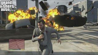Grand Theft Auto V (PS3) Free-Roam Gameplay #5
