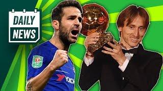 Cesc Fabregas to Milan? + Antoine Griezmann has his say on the Ballon Dór ► Daily Football News