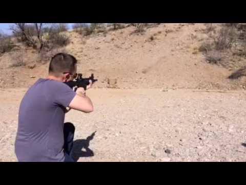 Me Rapid Fire Shooting On An AR-15 Pt2