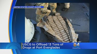 Coast Guard To Offload Cocaine At Port Everglades