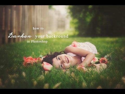 How to Darken Your Background in Photoshop