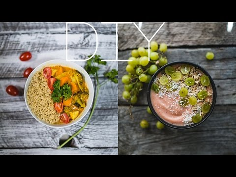 DIY Wood Backdrop for Food Photography
