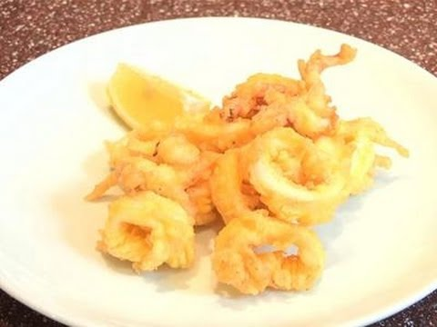 How To Make Fried Calamari