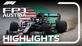 2020 Austrian Grand Prix: FP1 Highlights