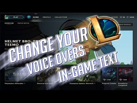How to Change League of Legends Language Effortlessly New Client 2016-17