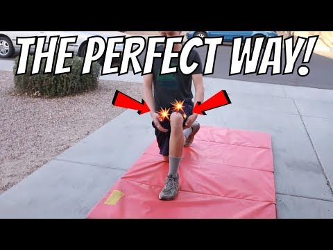 How To Do A Lunge For Men With Bad Knees!