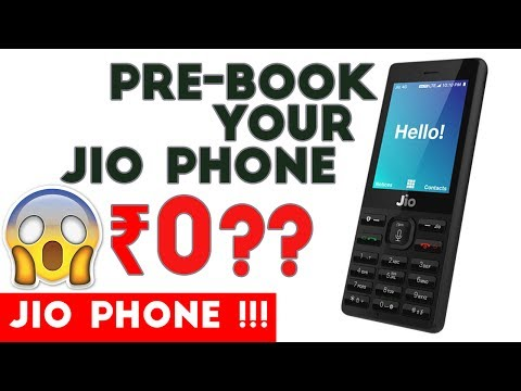 Book Your JIO Phone Today | Pre-booking stars today 📣