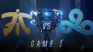 Download FNC vs C9 | Semifinal Game 1 | World Championship | Fnatic vs Cloud9 (2018) Video