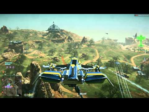 Liberator Flying 1
