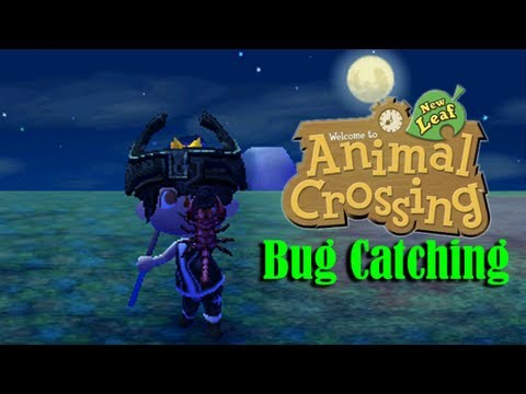 Animal Crossing New Leaf: Catching a Scorpion (Works the same with Tarantulas)