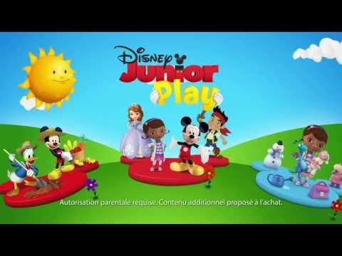 Application Disney Junior Play ! - Disponible gratuitement sur iOS et Android