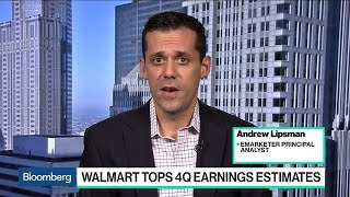Walmart Is Firing on All Cylinders, EMarketer's Lipsman Says