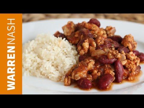 Turkey Chilli Con Carne Recipe - Fitness Recipes by Warren Nash