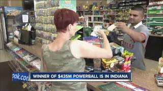 Winning Powerball Ticket Sold In Indiana