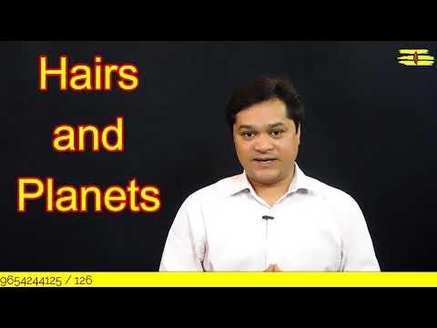 HAIRS & PLANETS||बालों का ज्योतिष में महत्व||दाढ़ी और मूछ,शरीर पर ज्यादा बाल होने का मतलब