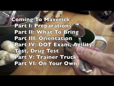 Coming To Maverick Transportation Part IV Agility, Drug, DOT Tests Craig Ryan 1-23-18