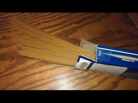 Cooking Thin Spaghetti Pasta Al Dente (Spaghettini)