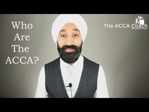 Who are the ACCA? - The ACCA Coach