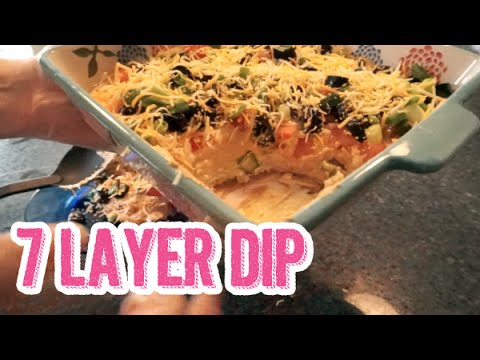 7 Layer Dip Recipe | Easy Party Appetizer or Game Day Idea