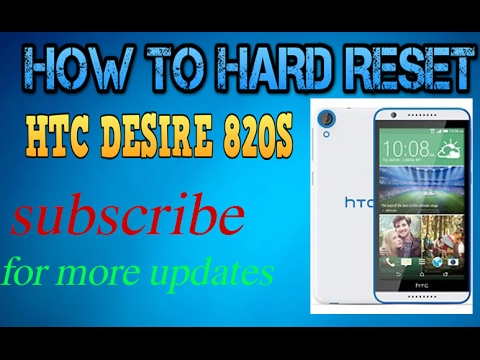 How to Unlock Pin/Pattern/lock/ on Htc Desire 820s/ Htc Desire 820s Hard reset
