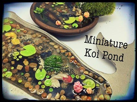 Polymer Miniature Koi Ponds