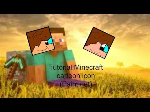 Tutorial:(Easy) Minecraft cartoon icon (Paint.net)
