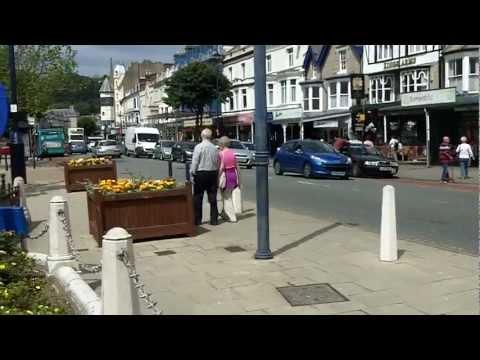 Town Centre, Llandudno, North Wales.