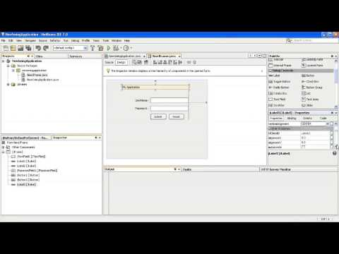Java Swing Desktop Application part 1