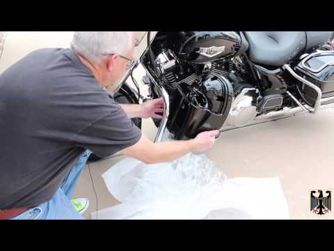 Harley-Davidson Road King Lower Faring Installation