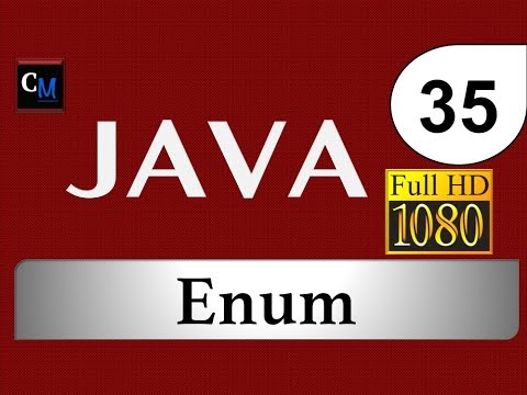 Curso de Java [Tutorial Java Básico] - 35. Enum (Enumeracion)