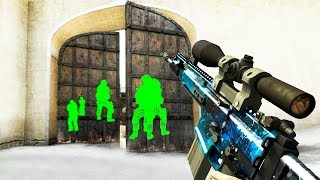ILLEGAL HACKS IN CS:GO (Counter-Strike Global Offensive Funny Moments)