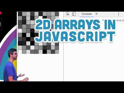 9.15: 2D Arrays in JavaScript - p5.js Tutorial