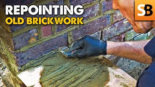 Repointing Old Brickwork - Best Mix & Tools