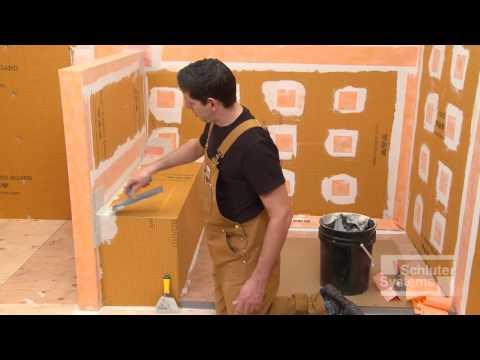KERDI BOARD Shower Bench