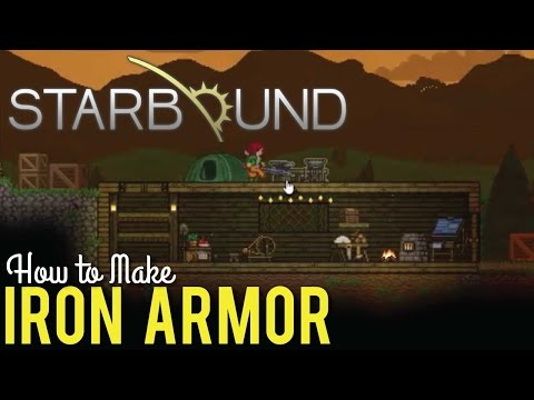 How to Make Iron Armor in Starbound 1.0