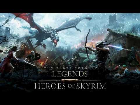 The Elder Scrolls Legends Heroes of Skyrim Main Menu Theme